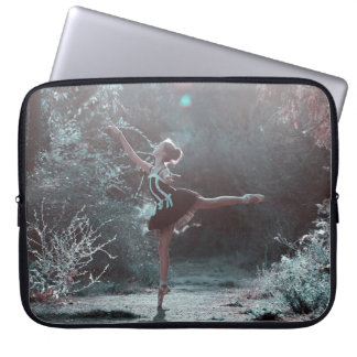 Beautiful Ballet Scene Outside Laptop Case