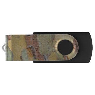 Beautiful bark. swivel USB 3.0 flash drive