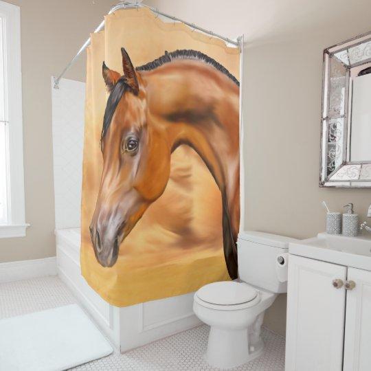 Beautiful Bay Arabian Horse