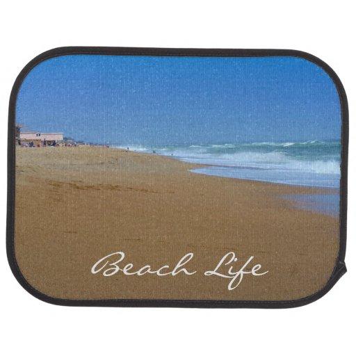 Beautiful Beach-Beach Life Car Mat