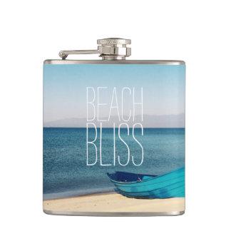Beautiful Beach Bliss Flasks