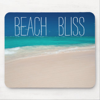 Beautiful Beach Bliss Mouse Pad