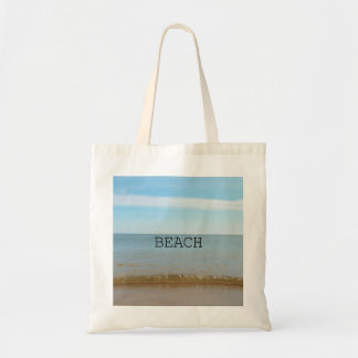 Beautiful Beach Bliss With Gentle Wave Tote Bag