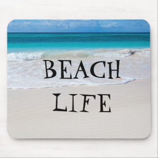 Beautiful Beach Life Mouse Pad