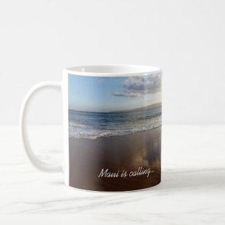 Beautiful Beach Maui is Calling Mug
