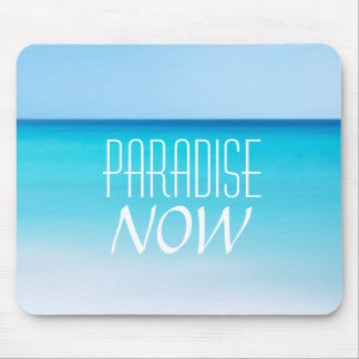 Beautiful Beach Paradise Now Mouse Pad