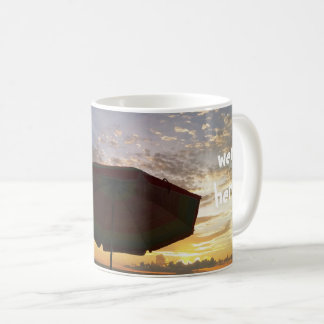 Beautiful Beach Sunset Picture Coffee Mug