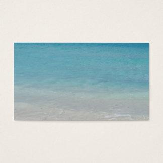 Beautiful Beach | Turks and Caicos Photo Business Card