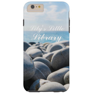 Beautiful Beach Waters (Personalized) Tough iPhone 6 Plus Case