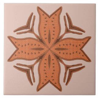 Beautiful Beaded Cross Motif Tile