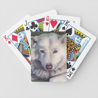 Beautiful Bear Bicycle Playing Cards