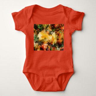 Beautiful Begonias Baby Bodysuit