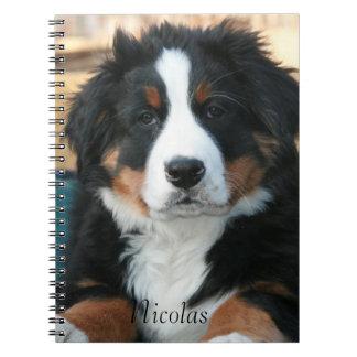 Beautiful Bernese Mountain Dog Notebook