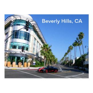 Beautiful Beverly Hills Postcard! Postcard
