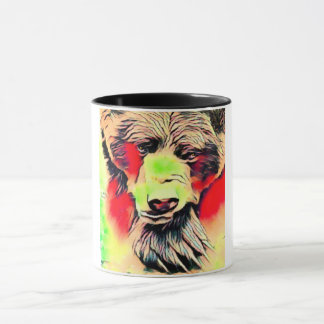 Beautiful Big Brown Bear  Delicious Coffee Mug