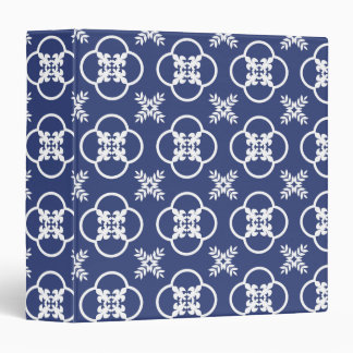 Beautiful Binder with Azulejos Portugese Pattern