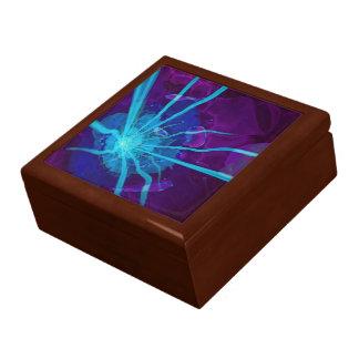 Beautiful Bioluminescent Sea Anemone FractalFlower Gift Box