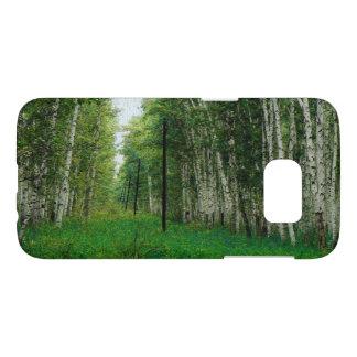 Beautiful Birch Tree Forest Art Samsung Galaxy S7 Case