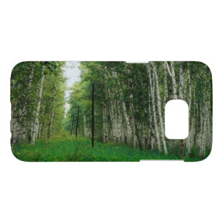 Beautiful Birch Tree Forest Samsung Galaxy S7 Case