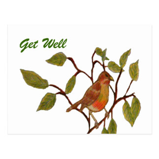 Beautiful Birdie Postcards
