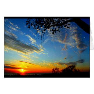 Beautiful Birthday From Sunrise To Sunset Card