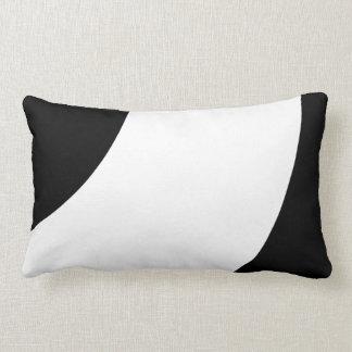 Beautiful Black and white Lumbar Pillow
