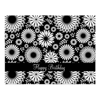 Beautiful black and white Postcard