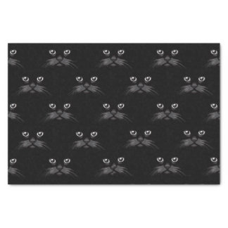 Beautiful Black Cat Custom Gift Tissue Paper