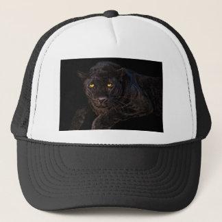 Beautiful black panther, cap