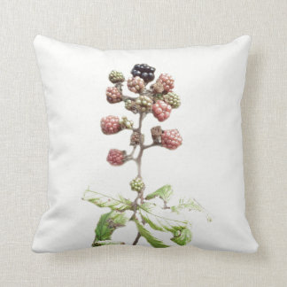 Beautiful Blackberries Throw Pillow