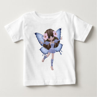 Beautiful Blond Girl Fairy Baby T-Shirt