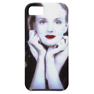 Beautiful Blond Woman 1920s iPhone 5 Cases