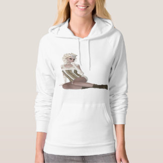 Beautiful Blond Woman Hoodie