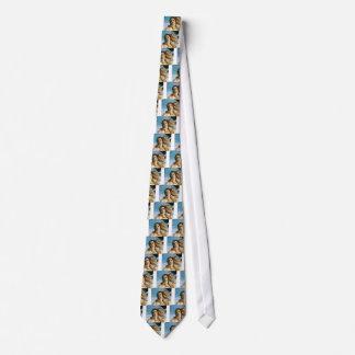 beautiful blonde oil tie