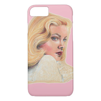 Beautiful blonde pin-up girl iPhone 8/7 case