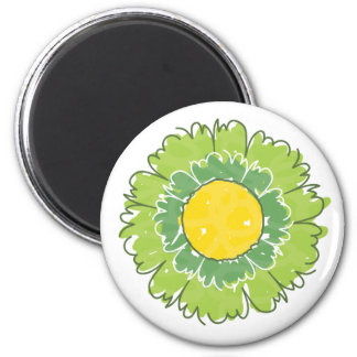 Beautiful Blossom Magnet - Green