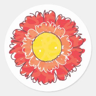 Beautiful Blossom Sticker - Red