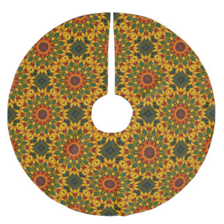 Beautiful Blossoms 02.7.2, Mandala for Christmas Brushed Polyester Tree Skirt