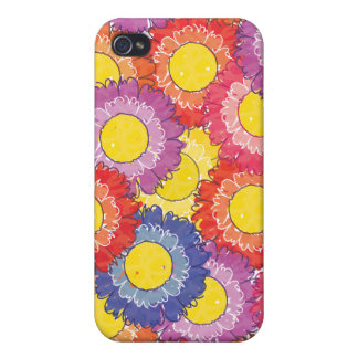 Beautiful Blossoms ® Fabric  iPhone 4 Cases