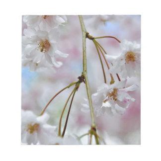 Beautiful Blossoms Notepad