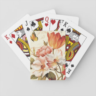 Beautiful Blossoms Playing Cards