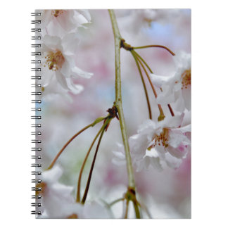 Beautiful Blossoms Spiral Note Book
