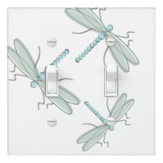 Beautiful blue and green dragonfly | Light Switch