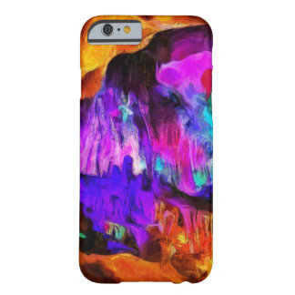 Beautiful blue and pink colors barely there iPhone 6 case