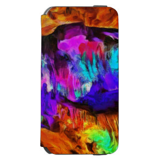 Beautiful blue and pink colors incipio watson™ iPhone 6 wallet case