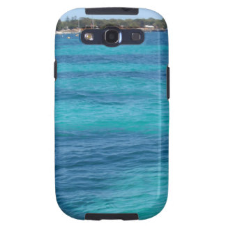 Beautiful Blue Beach Galaxy S3 Covers