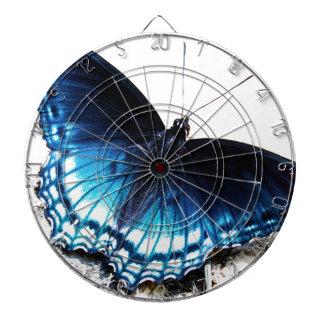 Beautiful Blue Butterfly Dartboard