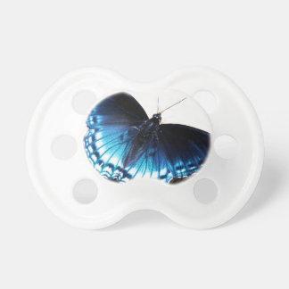 Beautiful Blue Butterfly Pacifier