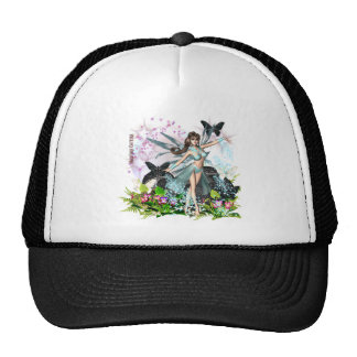 Beautiful Blue Fairy by Hardcore Couture Trucker Hats