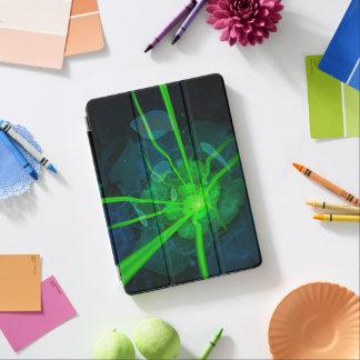 Beautiful Blue-Green Fractal Flower of Atlantis iPad Pro Cover